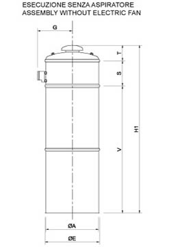 FGM SERIE SILO VENTING FILTERS