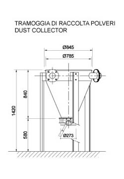 MAXAIR SERIE SILO VENTING FILTERS